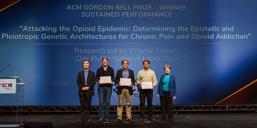 SC18 Gordon Bell Winners