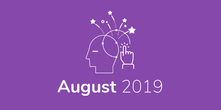 August 2019 graphic